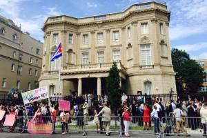 The Cuban Embassy in Washington D.C. Credit: ABC News/Michael Vincent