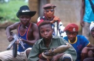 Child Soldier - Kindersoldat