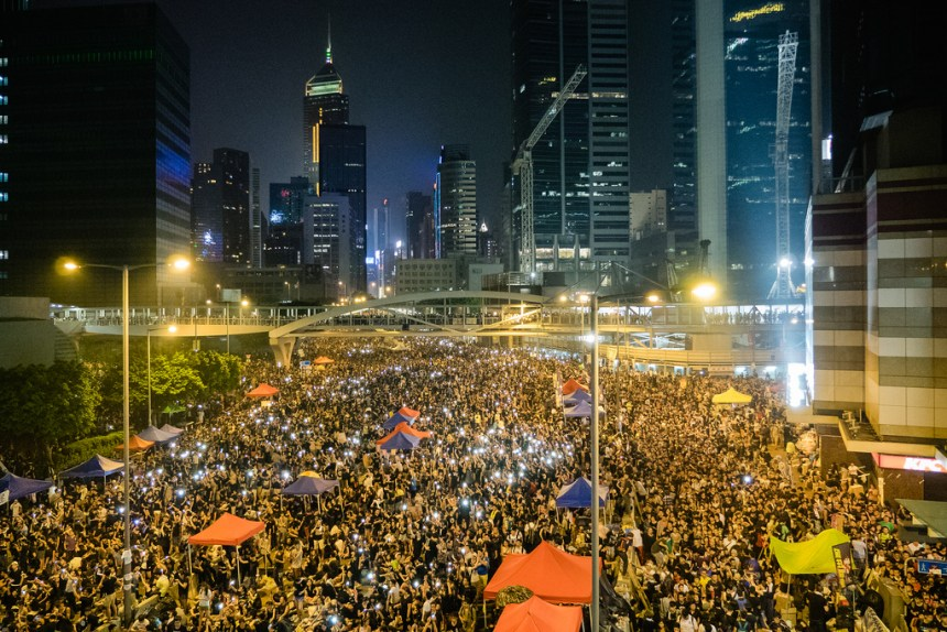 The Umbrella Revolution took over much of Hong Kong goo.gl/FOS72j