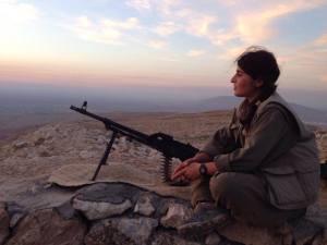 Kurdish PKK Guerilla in Shingal by Kurdishstruggle https://flic.kr/p/u3Jvtu