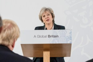 """Looking forward to how she achieves a """"Global Britain."""" https://flic.kr/p/Q5ATdD"""