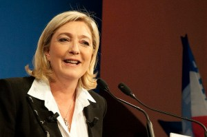 Leader of National Front (FN), Marine Le Pen