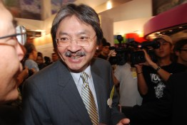 "Former Financial Secretary John Tsang Chun-wah, otherwise known as the ""people's choice"", currently faces the challenge of gaining Beijing's approval. https://flic.kr/p/4g6Xec"
