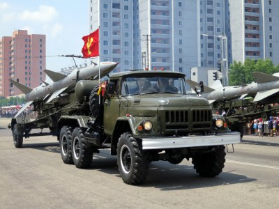 Victory Day Celebration Parade, Pyongyang 2013. https://flic.kr/p/fqe7D6