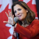 The Brain Behind the Deal: A Portrait of Chrystia Freeland