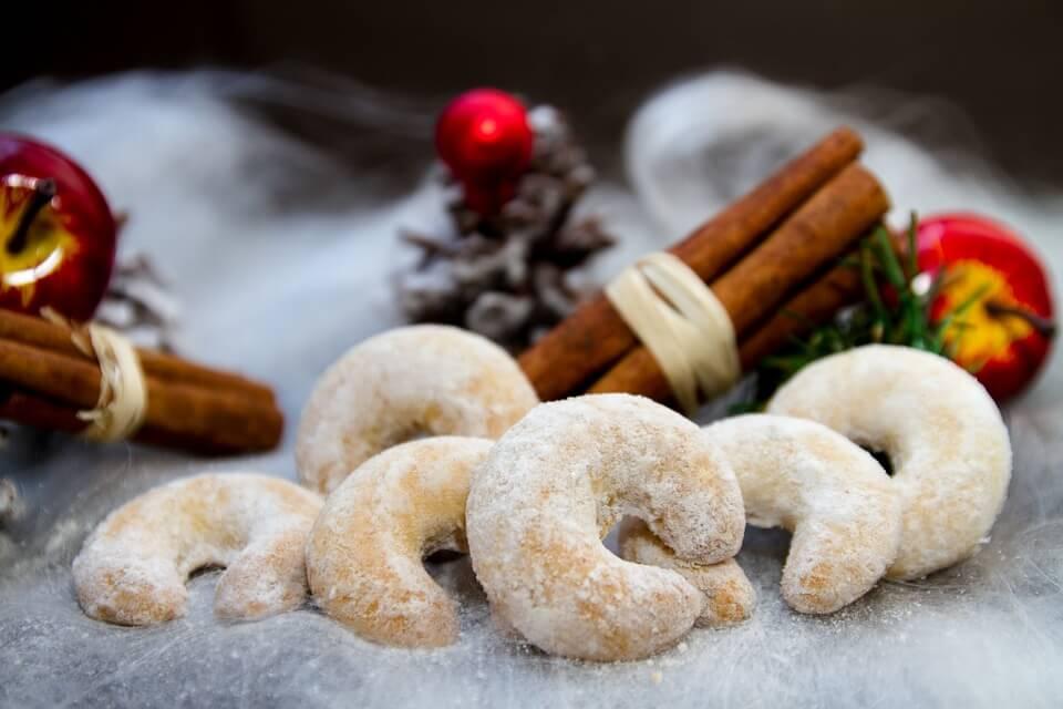 vanilin kiflice, christmas desserts, traditional, dalmatia, www.zadarvillas.com