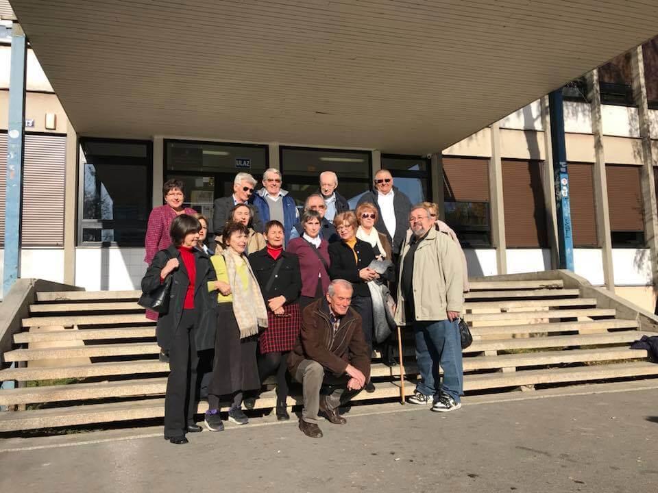 Prva generacija učenika XIII. gimnazije okupila se na 50. godišnjici mature