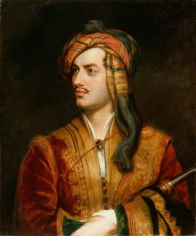 [22.1.] Rođen Lord Gordon Byron, najslavniji engleski romantičar i prvi celebrity u svijetu