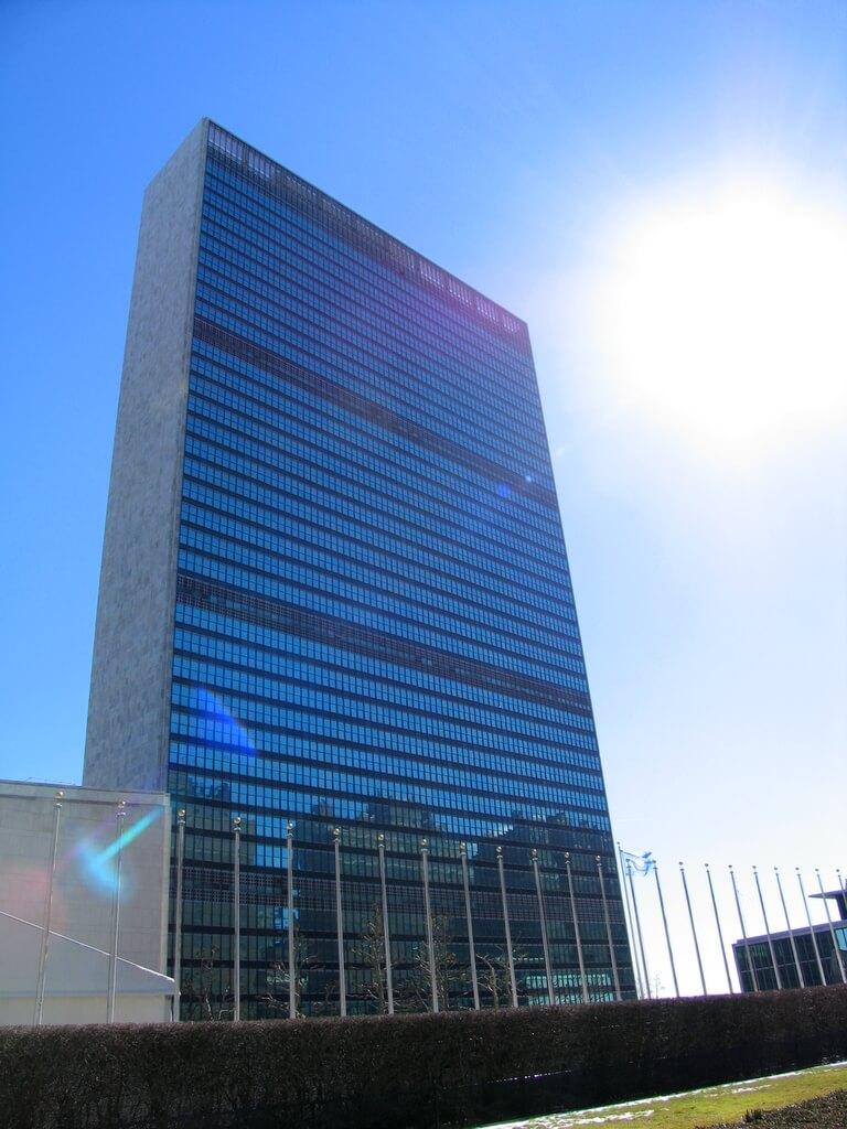 [9.1.] Službeno otvoreno sjedište Ujedinjenih naroda, najveće svjetske mirotvorne organizacije