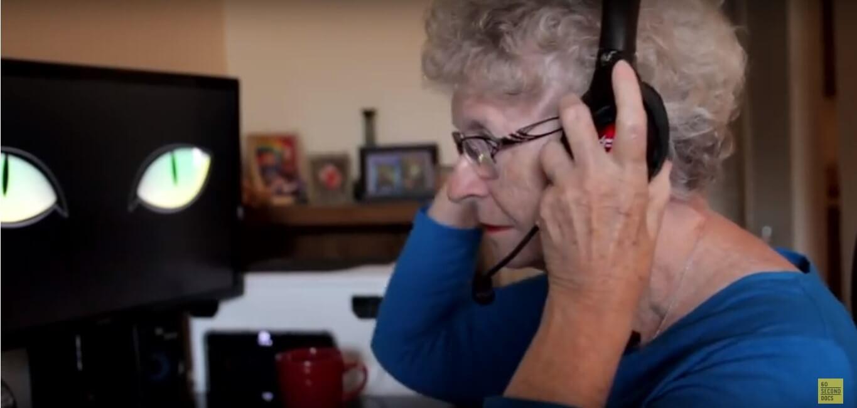 [VIDEO] Baka gejmerica ima 79 godina i obožava ubijati zmajeve