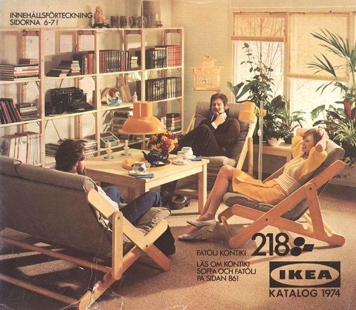 Pogledajte kako se mijenjao izgled idealnog dnevnog boravka kroz godine u starim IKEA-inim katalozima