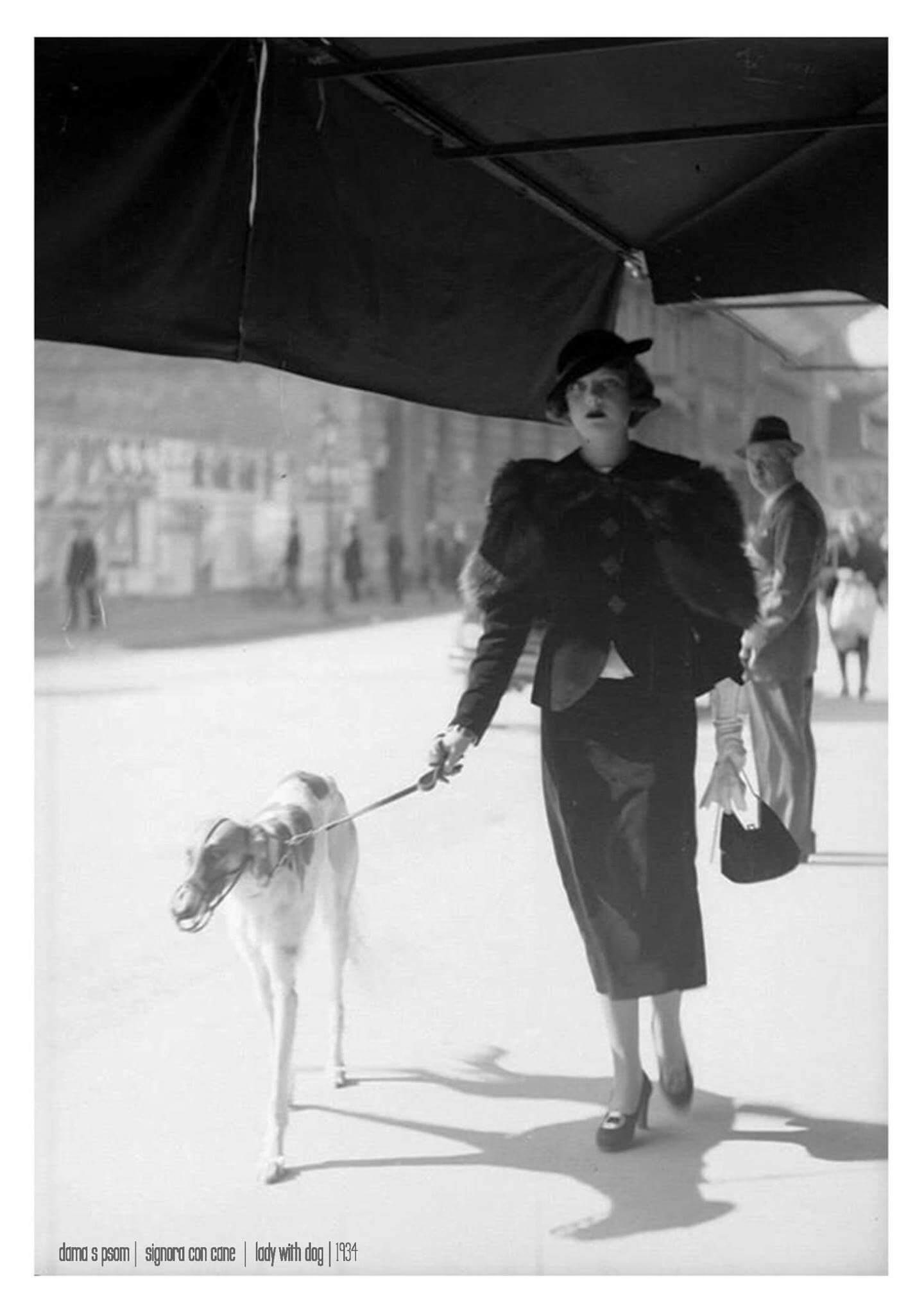 Sjećate li se poznate fotografije dame sa psom iz 30-ih godina?