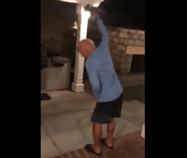 [VIDEO] Hrvatski djed u iseljeništvu poludio na spomen Srbije, snimka postala hit