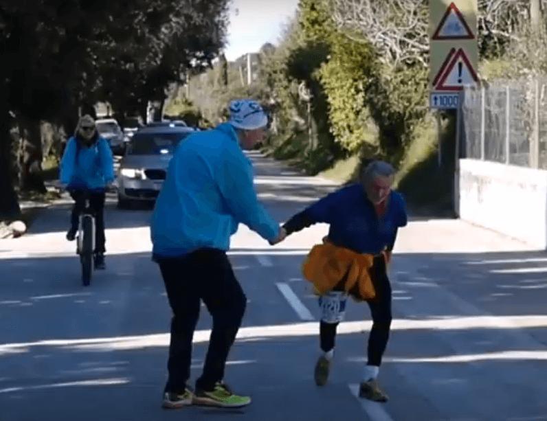 """Najstariji sudionik splitskog polumaratona: """"Druženje s mladima me drži svih ovih godina"""""""