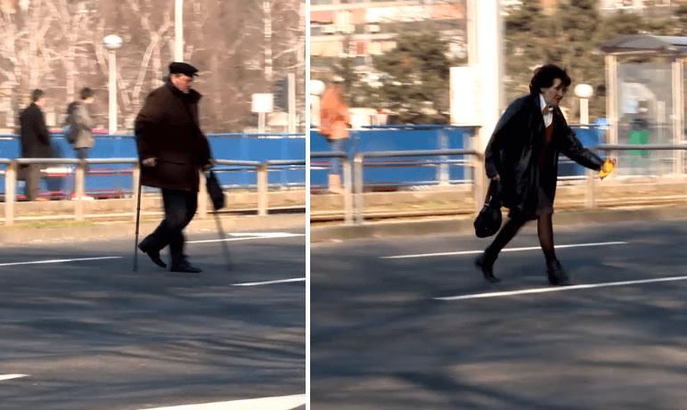 """NB: """"U Zagrebu prošlog vikenda održana prva službena utrka umirovljenika preko Avenije Dubrovnik"""""""