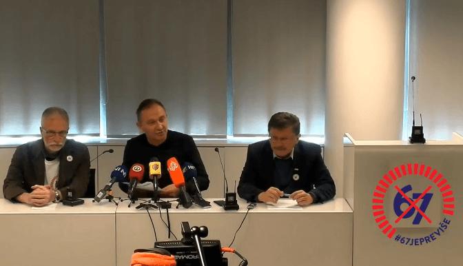 Sindikati pisali Plenkoviću: Traže ga da razriješi ministra Marka Pavića jer je varao narod