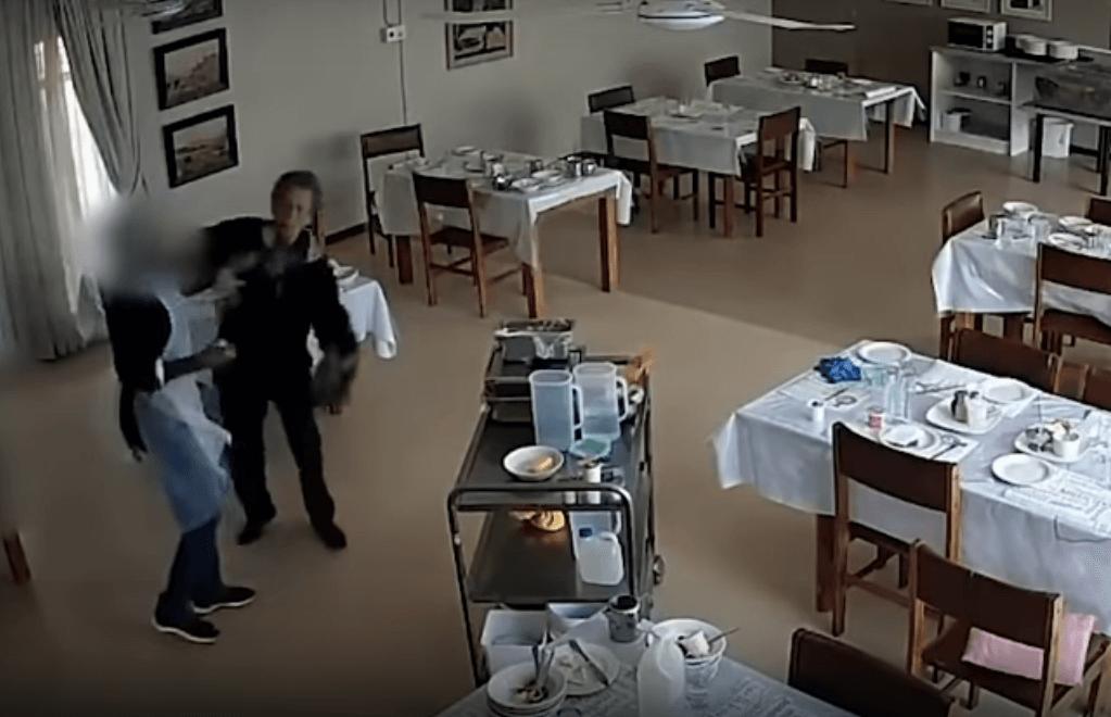 [VIDEO] Gospođa u domu za starije htjela uzeti još jedan jogurt, zaposlenica ju gurnula na pod