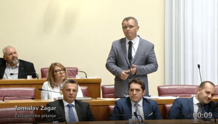 """Novi HSU-ovac pitao ministra o nacionalnoj mirovini: """"Vi častite, netko drugi plaća"""""""
