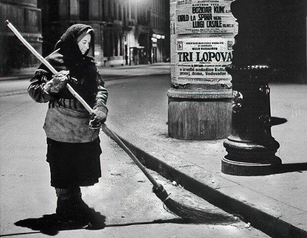 Žene su Zagreb čistile noću kako bi ujutro osvanuo čist