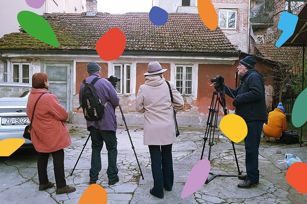 Trešnjevački seniori prikazat će sutra svoje dokumentarne filmove