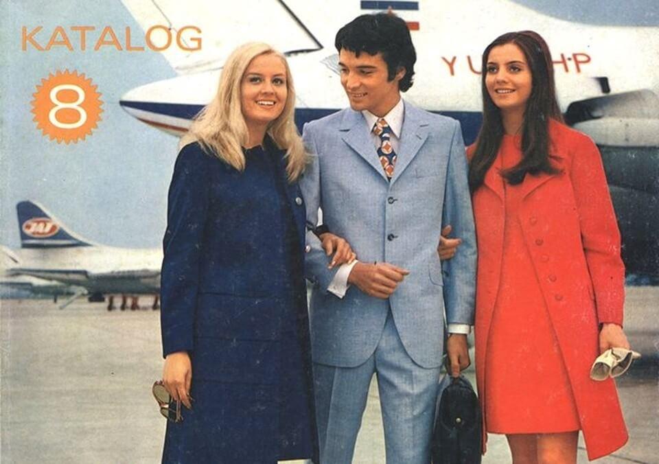 Katalog Name iz 1971. krasi naša nekad vrlo poznata manekenka