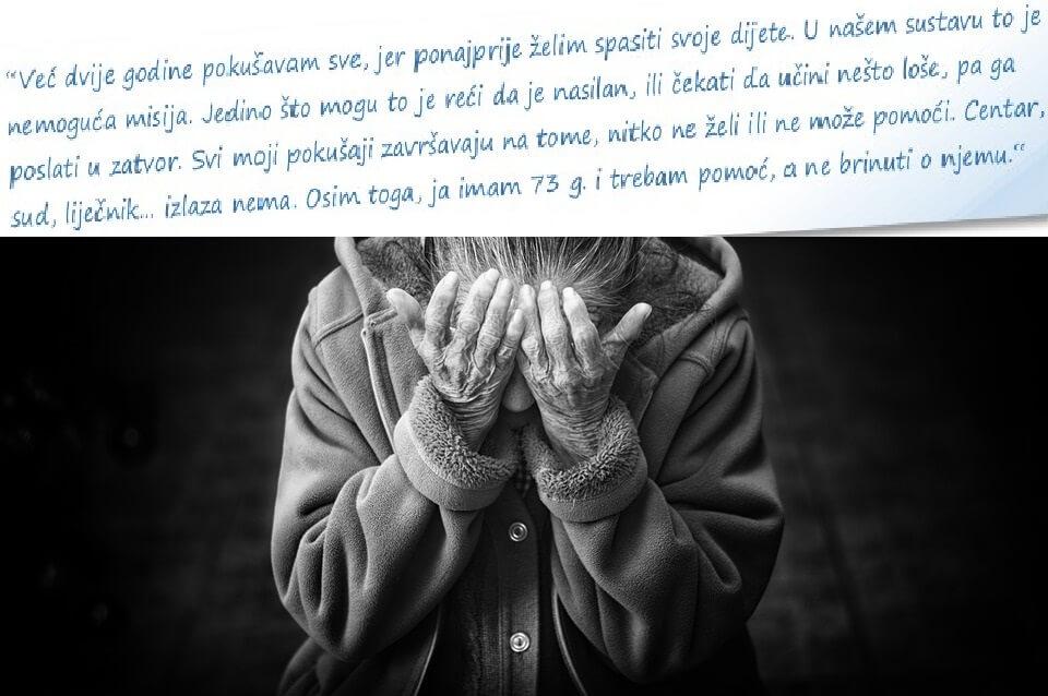 Nasilje nad starijima: Država treba žurno zbrinjavanje žrtava, ali i evidenciju počinitelja