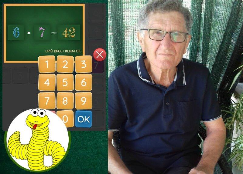 Umirovljenik osmislio aplikaciju za učenje matematike, vježbati možete s unucima!