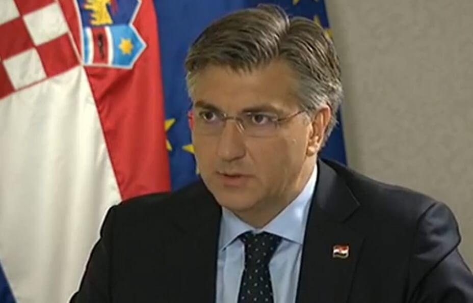 Plenković: Rasle su mirovine, minimalna plaća, prosječna plaća – bolji smo nego 2016.