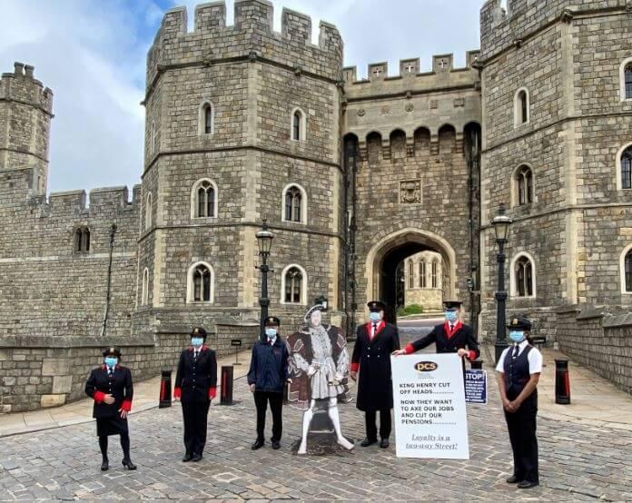 Zbog malih mirovina i otkaza štrajkaju čak i zaposlenici kraljice Elizabete II.