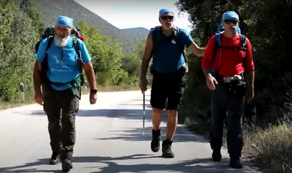 Slijepi planinar Feručo (65) krenuo na put dug 1.100 kilometara, hodat će do Istre 50 dana