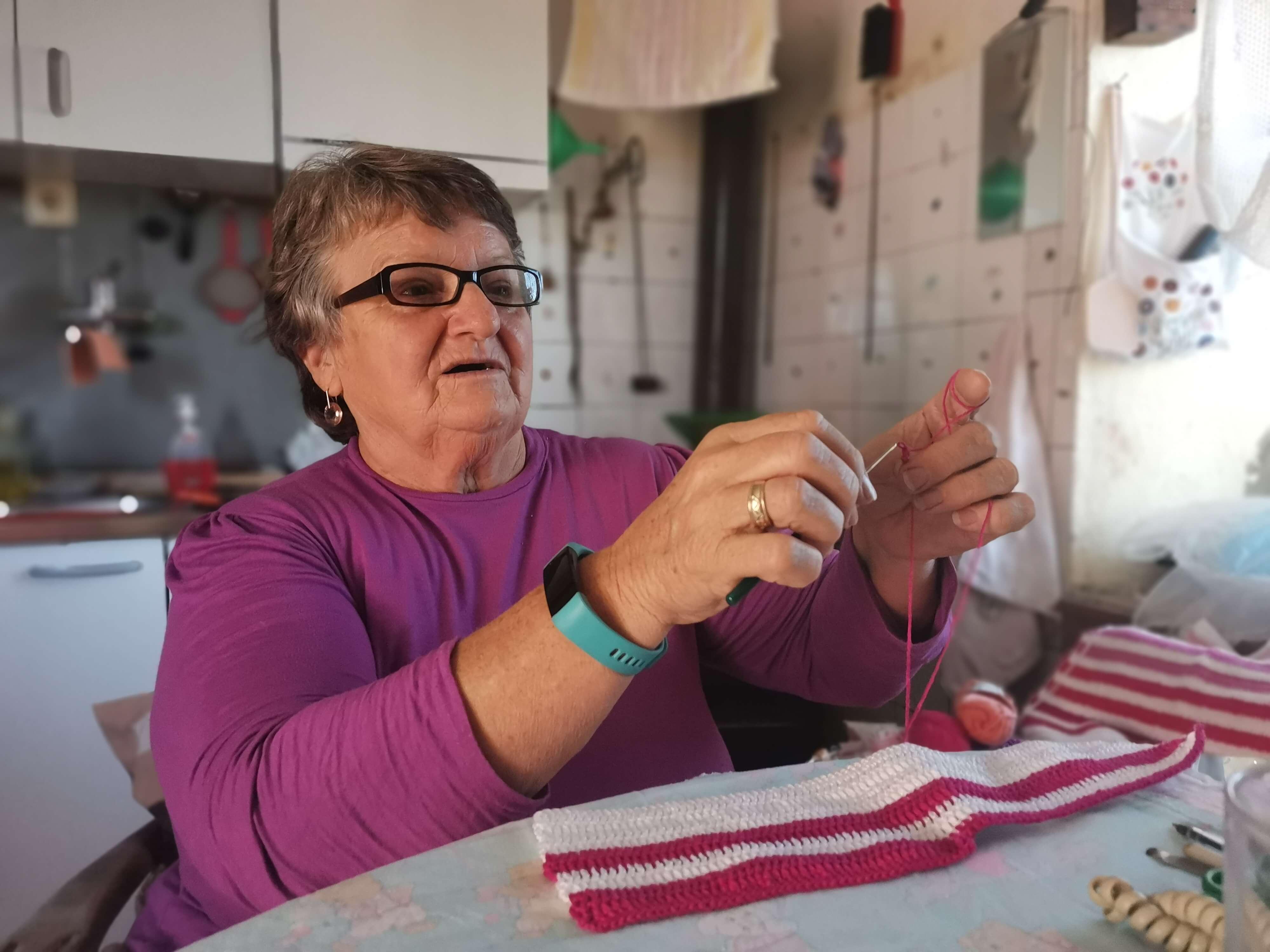 """Marija Bulat (65): """"Nisam umirovljenica koja kuka, radije mijesim i heklam"""""""