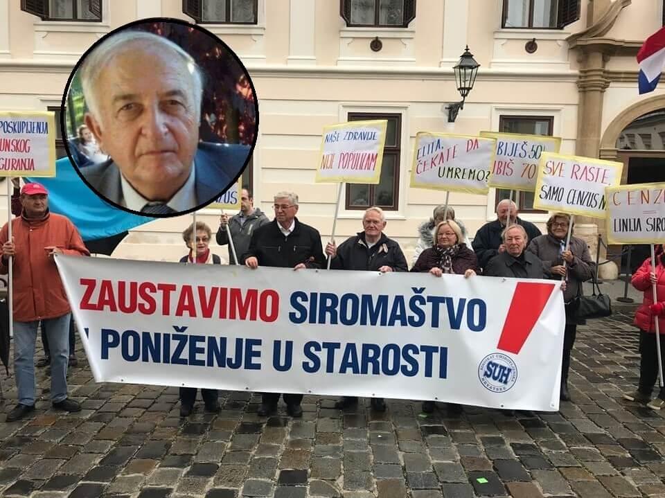 Predsjednik Sindikata umirovljenika dao ostavku, na čelu ponovno Jasna A. Petrović!