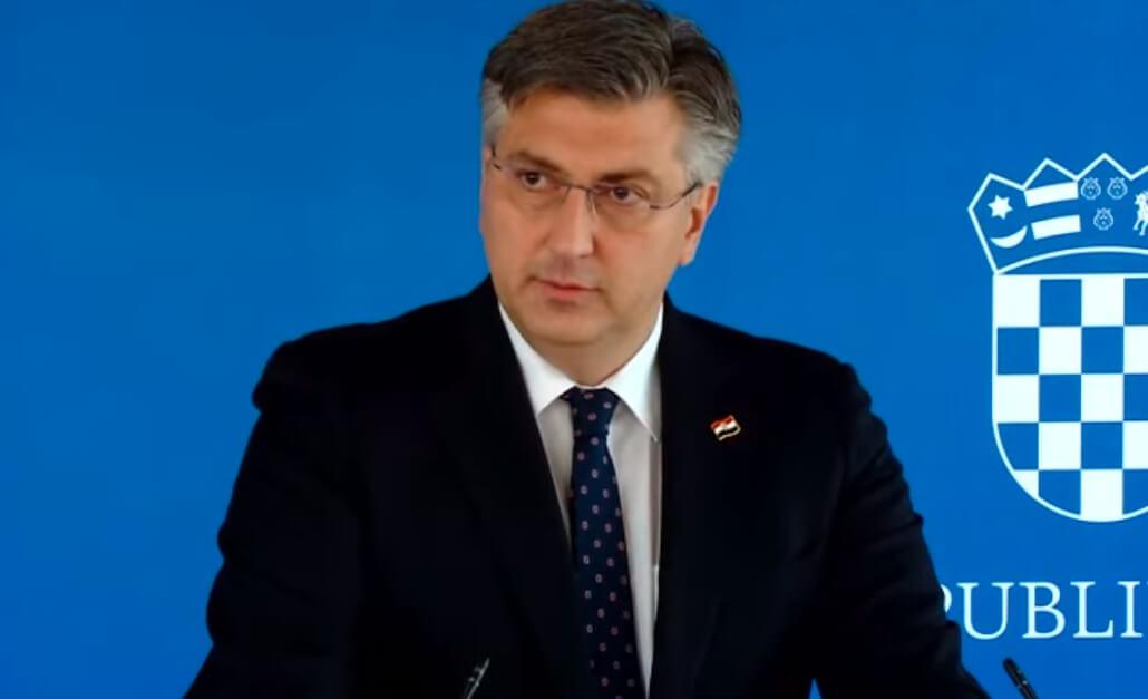 Plenković: Sramotno je da netko podržava Milanovića, to je talog društvenih mreža