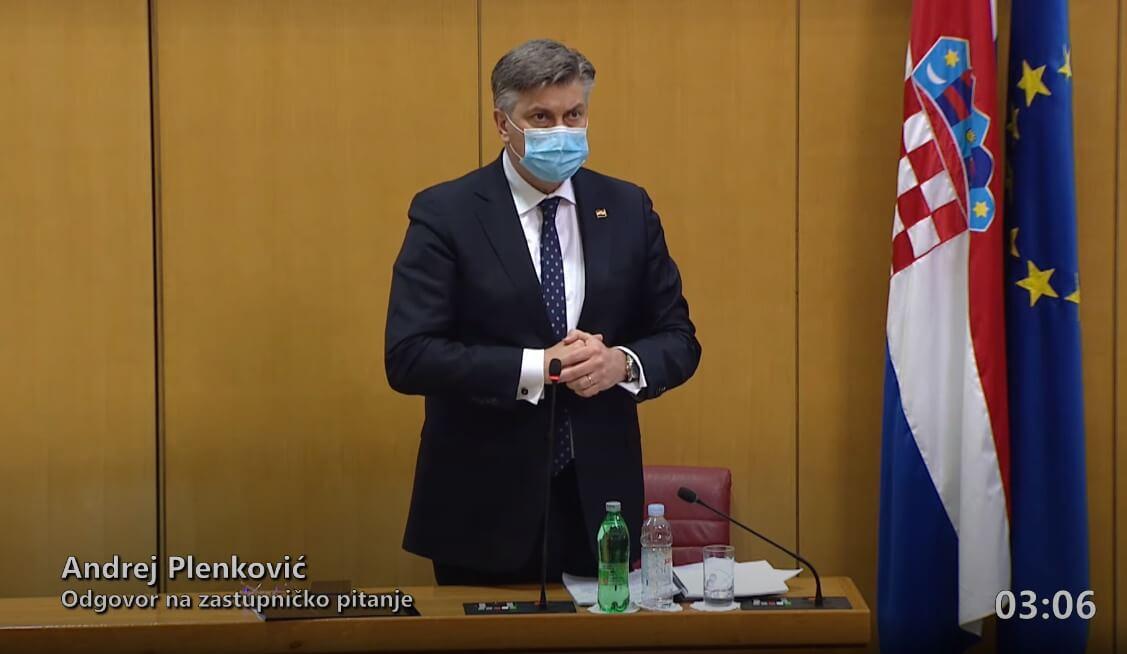Plenković u Saboru upravo potvrdio isplatu covid dodatka: Stiže kroz nekoliko tjedana