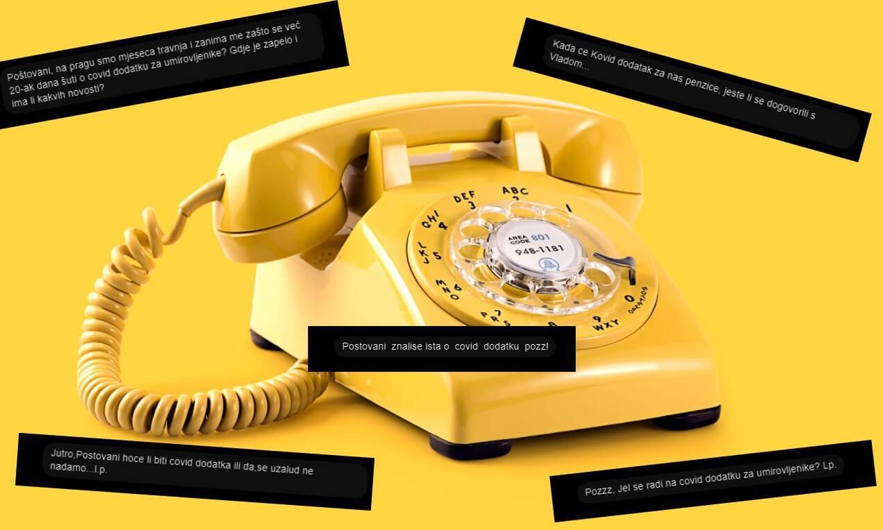 telefon covid dodatak