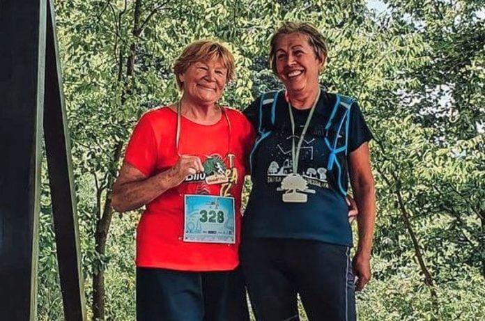 Ruža Milić (73) postala najstarija žena koja je istrčala utrku Bilogora Trail