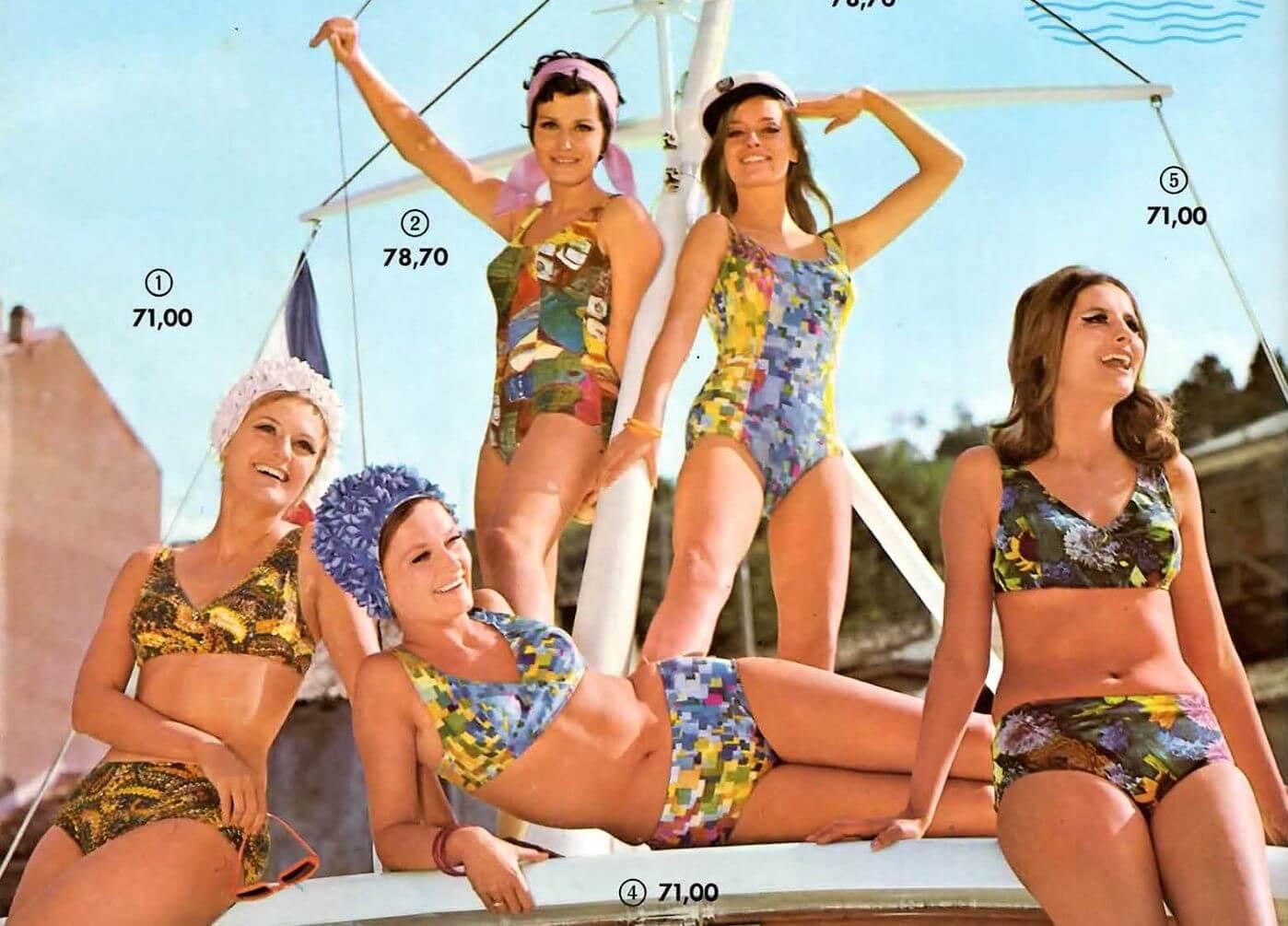 Kupaći kostimi i asortiman za plažu Name vraćaju nas u kasne 60-e