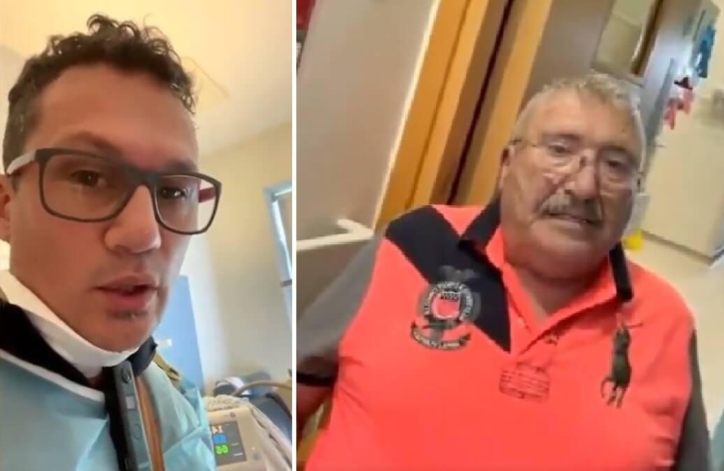 Umirovljenik umro od korone nakon što su ga 'antivakseri' nagovorili da napusti bolnicu