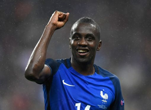 PARIS, FRANCE - JULY 03: Blaise Matuidi of France celebrates after his team's 5-2 win in the UEFA EURO 2016 quarter final match between France and Iceland at Stade de France on July 3, 2016 in Paris, France. (Photo by Mike Hewitt/Getty Images)