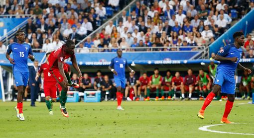 Eder scores the first goal