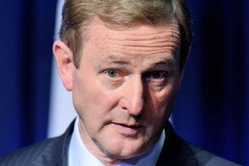 Irish Prime Minister Enda Kenny
