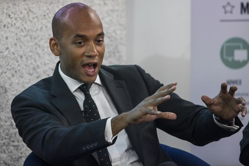 Labour politician Chuka Umunna speaks at the Federation of Small Businesses European Union Referendum Debate at the Queen Elizabeth II Conference Centre on June 13, 2016 in London, England. Mr Umunna today made the case for remaining in the European Union ahead of the June 23rd referendum.