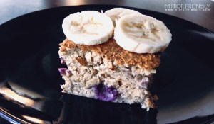 Mirror Friendly Porridge Cake