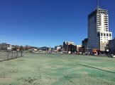 Christchurch in 2016, large empty areas as the city tries to rebuild itself after the 2011 earthquake wipeout, South Island