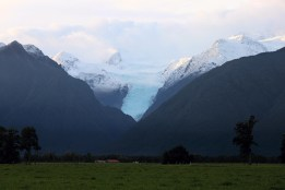 Approaching the Fox Glacier, South Island