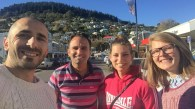 A Maltese, a Gozitan, a Slovak and a Latvian in Lyttelton, South Island