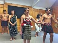 Haka, Whakarewarewa Maori village, North Island
