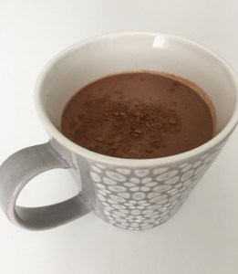 Mirror Friendly Hot or Cold Chocolate