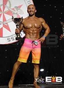 2018 Malta National IFBB Men's Physique Champion