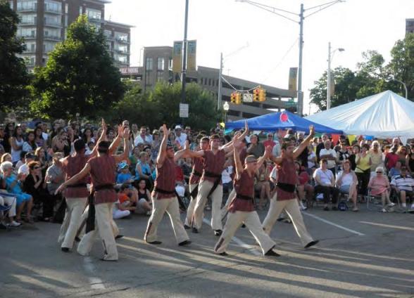 Hamazkayin dance troupe